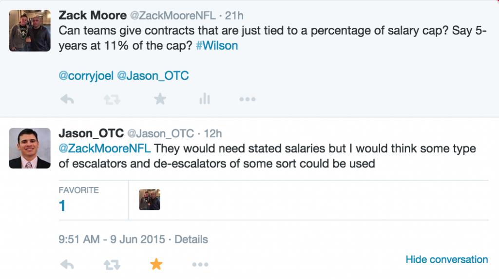 Jason's Wilson Response