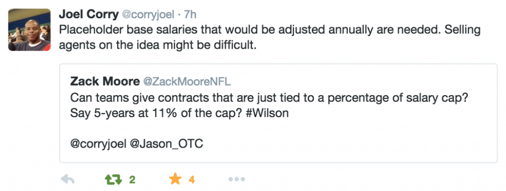 Joel Corry's Wilson Response